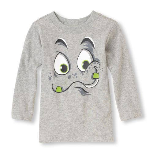 アメリカ チルドレンズプレイス 変顔 グラフィックTシャツ/Tシャツ