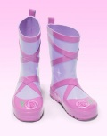 Kidorable rainboots ballet