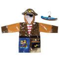 Kidorable raincoat pirate