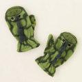 アメリカ チルドレンズプレイス 恐竜 フリース 手袋