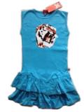 Endangered Tiger Summer Skater Dress タイガー サマーワンピース