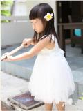 ホワイト プリンセス ドレス