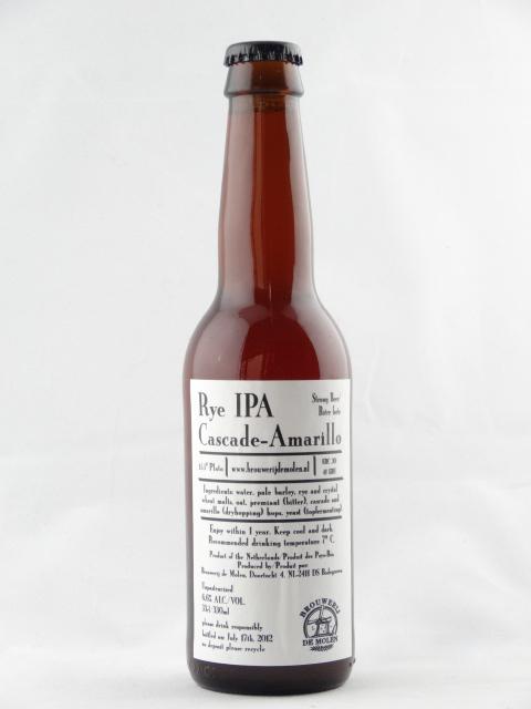 ライ IPA (カスケード&アマリロ)