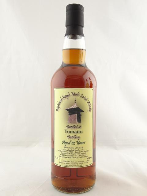 ウイスキーブローカー Whisky Broker / トマーチン 2001