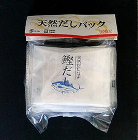 天然だしパック(かつお)8gx10袋