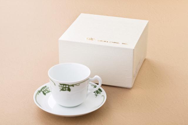 カップ&ソーサー(大倉陶園)