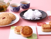 中華菓子と工芸茶のセット