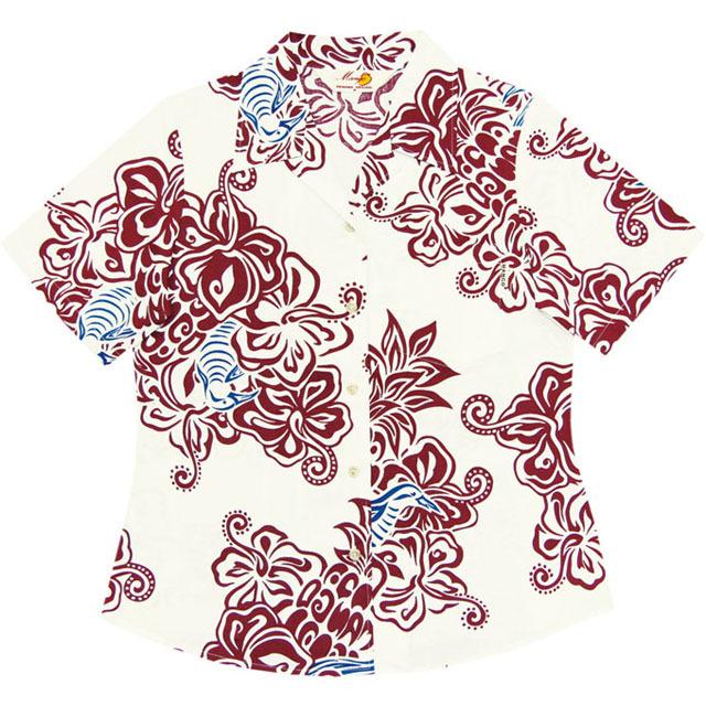 Lady's大柄クイナ オープンシャツ