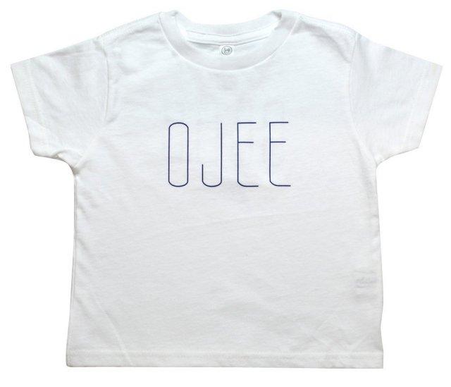 キッズTシャツ(沖縄おじー&おばー)kid'sT-shirt