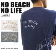 Men's ポケットTシャツ NO BEACH NO LIFE (UMUSAN SURF T-shirt)