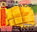 【秀品】沖縄マンゴー贈答用1kg(お中元・ギフト)3玉入り【送料無料】