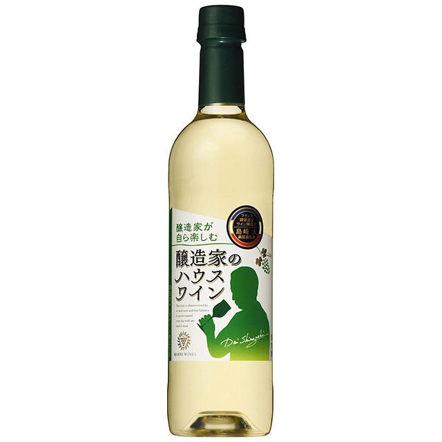 醸造家のハウスワイン 白 ペットボトル