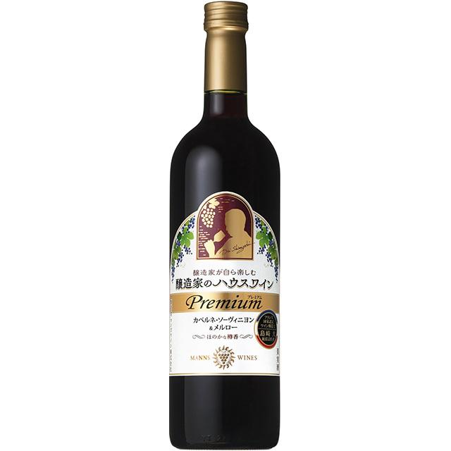 醸造家のハウスワイン プレミアム カベルネ・ソーヴィニヨン&メルロー
