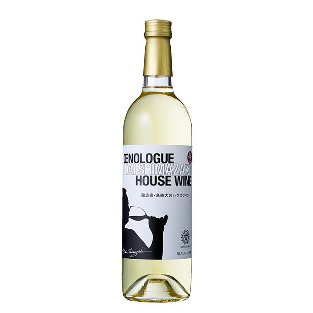 醸造家・島崎大のハウスワイン 白
