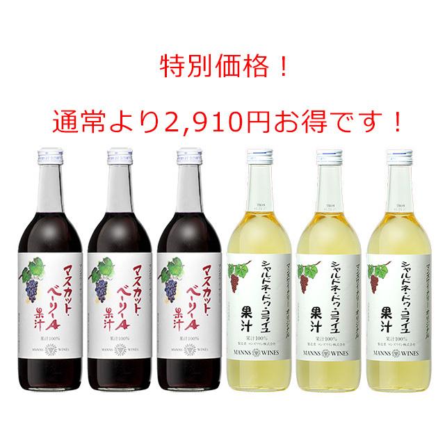 山梨・長野 果汁セット