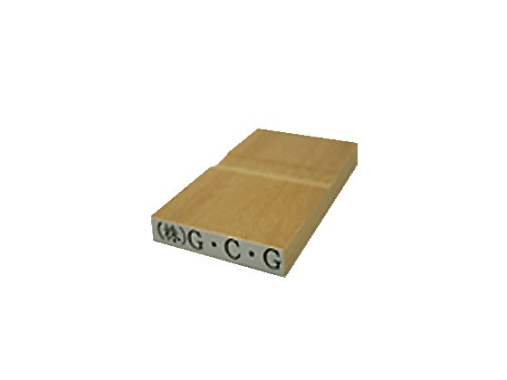 ゴム印 長方形 赤ゴム タテ5mm×ヨコ30mm のべ板(データご入稿商品)(05P29Jul16)