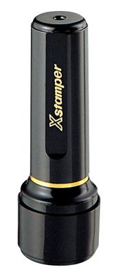 シャチハタ  丸型印 ネーム印 ブラック16( 印面サイズ:直径16mm) Bタイプ(データご入稿商品)
