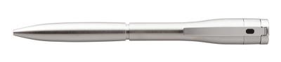 シャチハタ  ネームペン キャップレスエクセレント シルバータイプ 【注意】 ペン本体のみ 印面は付いていません。