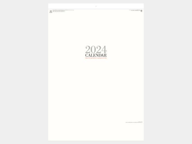 シンプルフェイス(大) NK200  カレンダー印刷 2020年度