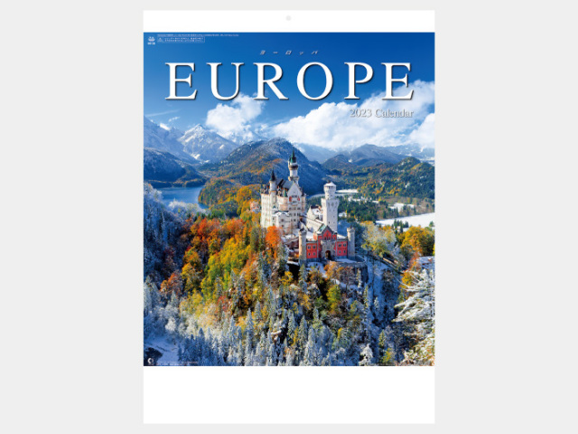 ヨーロッパ NK28カレンダー印刷 2019年度