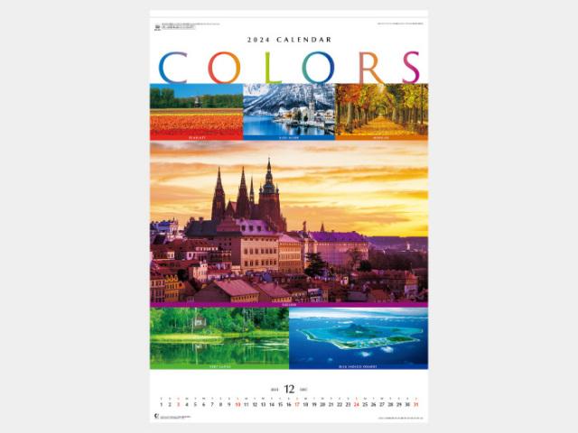 (フィルム)カラーズ NK415カレンダー印刷 2019年度