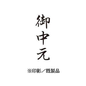 シャチハタ 既製品 Xスタンパー ビジネス用 B型 インキ:黒 【御中元  印面:タテ】 XBN-202V4