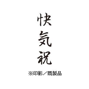 シャチハタ 既製品 Xスタンパー ビジネス用 B型 インキ:黒 【快気祝  印面:タテ】 XBN-219V4
