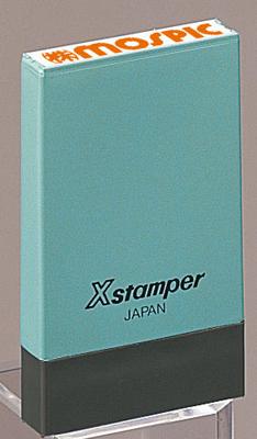 シャチハタ  角型印 0529号 氏名印 (  印面サイズ : 5×29mm ) Bタイプ(データご入稿商品)