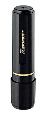 シャチハタ  丸型印 ネーム印 ブラック8( 印面サイズ:直径8mm) Bタイプ(データご入稿商品)