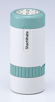 シャチハタ  データーネーム 24号 キャップ式 日付L/S(印面サイズ:直径24mm) Aタイプ