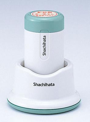 シャチハタ  データーネーム 24号 スタンド式 日付L/S(印面サイズ:直径24mm) Aタイプ