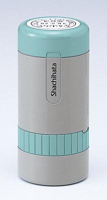 シャチハタ  データーネーム 27号 キャップ式 日付L/S(印面サイズ:直径27mm) Aタイプ