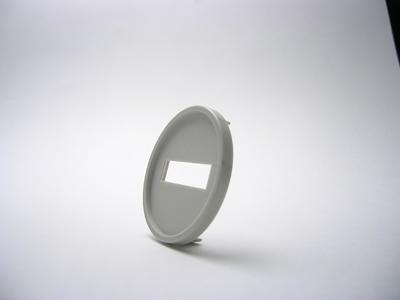 シャチハタ データーネームグリップ式 30号 マスター部(印面部グリップ式) 日付L/S(印面サイズ:直径30mm) Aタイプ