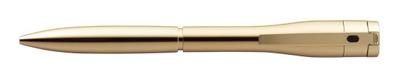 シャチハタ  ネームペン キャップレスエクセレント ゴールドタイプ 【注意】 ペン本体のみ 印面は付いていません。