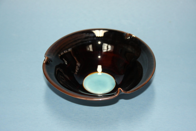 【先達窯】魔女の瞳 三つ山小鉢