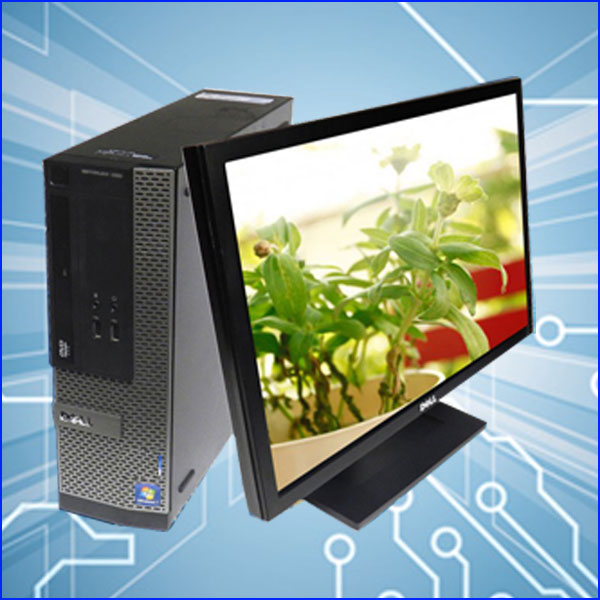 DELL OptiPlex 7010 SFFF 23インチワイド液晶ディスプレイ付き コアi5-3470(3.2GHz) メモリ8GB HDD:500GB DVDスーパーマルチ WPS Office付き Windows7 中古デスクトップパソコン=★