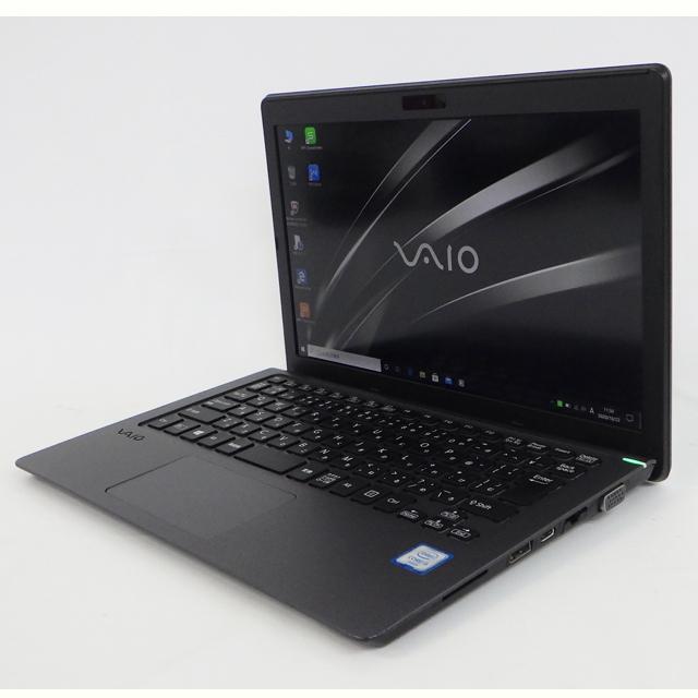 SONY VAIO S11 VJS111D12N メモリ4GB SSD128GB Windows10-Pro コアi5-6200U(2.30GHz)搭載 WEBカメラ Bluetooth 無線LAN WPS Office付き 液晶11.6型 中古ノートパソコン 訳あり★