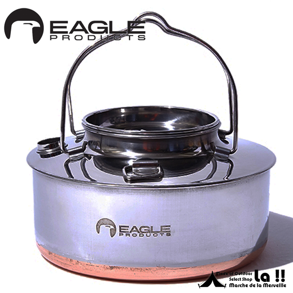 【 Eagle Products 】 イーグルプロダクツ Campfire Kettle(1.5L) with Pouch ポーチ付きキャンプファイア・ケトル(1.5L)