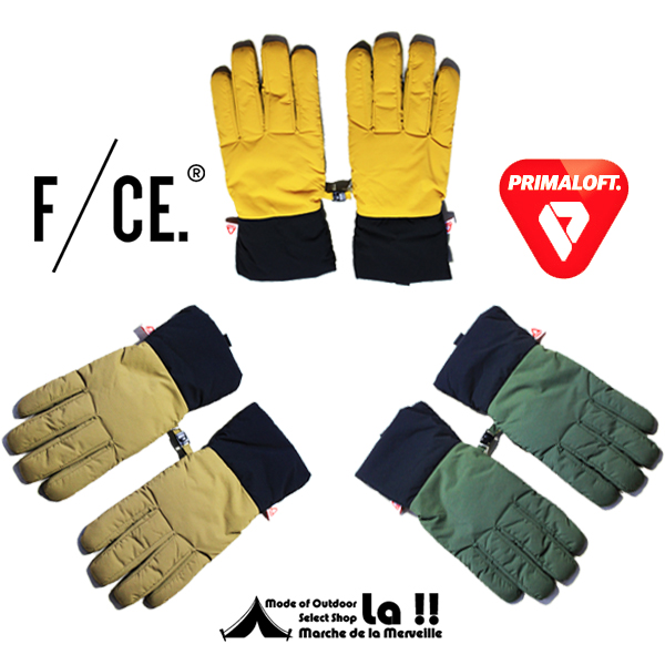 【 F/CE. 】 エフシーイー PRIMALOFT GLOVE  プリマロフト・グローブ / 手袋