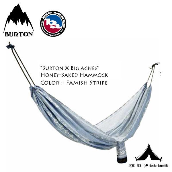 【 Burton Camping Collection 】 バートン・キャンピングコレクション Big Agnes x Burton Camp Honey-Baked Hammock ハニーベイクド・ハンモック