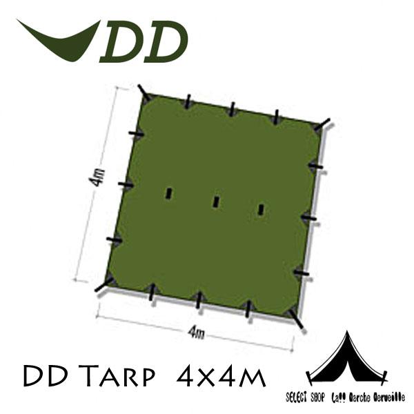 【 DD Hammocks 】 DD Tarp DDタープ 4x4