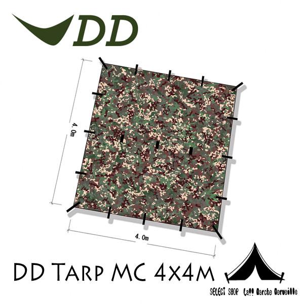 【 DD Hammocks 】 DD Tarp-MC DDタープ マルチカモ 4x4