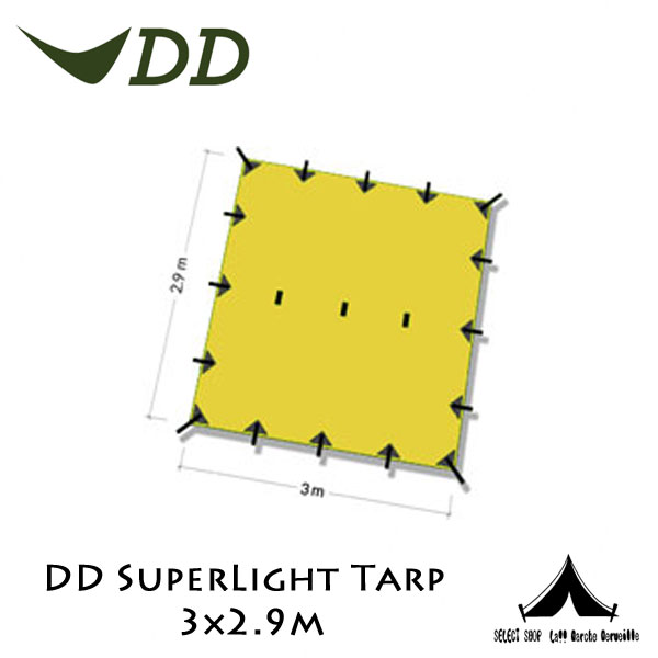 【 DD 】 DD SuperLight Tarp DDスーパーライトタープ 3×2.9