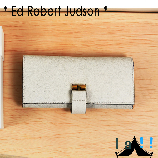【 Ed Robert Judson 】 エド・ロバート・ジャドソン Cow Hair Long Wallet ハラコレザー・ロングウォレット