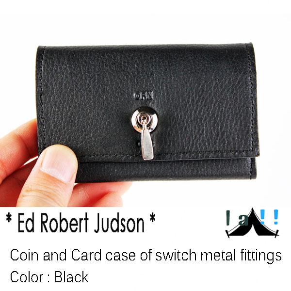 【 Ed Robert Judson 】 エド・ロバート・ジャドソン Coin & Cardcase of Switch Metal Fitting スイッチ金具のコイン&カードケース