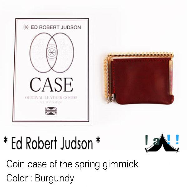 【 Ed Robert Judson 】 エド・ロバート・ジャドソン Coin case of the Spring Gimmick スプリングギミック・コインケース