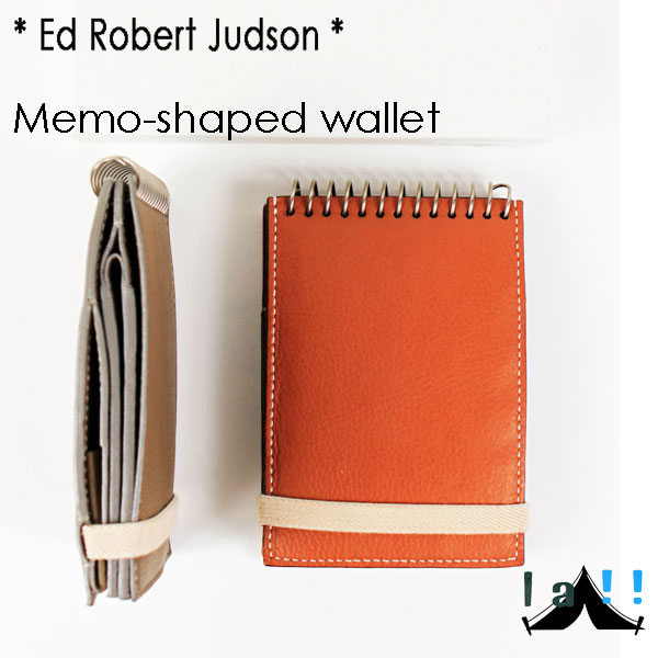【 Ed Robert Judson 】 エド・ロバート・ジャドソン Memo-shaped Wallet メモ帖のようなサイフ
