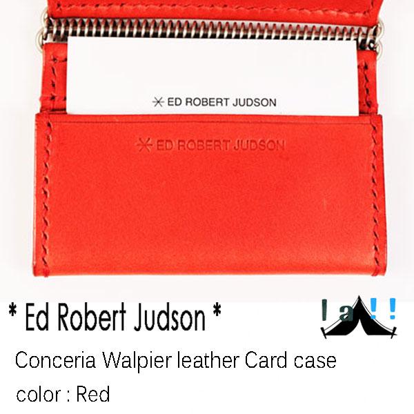 【 Ed Robert Judson 】 エド・ロバート・ジャドソン Conceria Walpier Leather Card Case イタリア・ワルピエレザー別注・カードケース