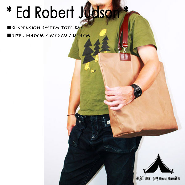 【 Ed Robert Judson 】 エド・ロバート・ジャドソン Suspension System Tote Bag サスペンションシステム・トートバッグ