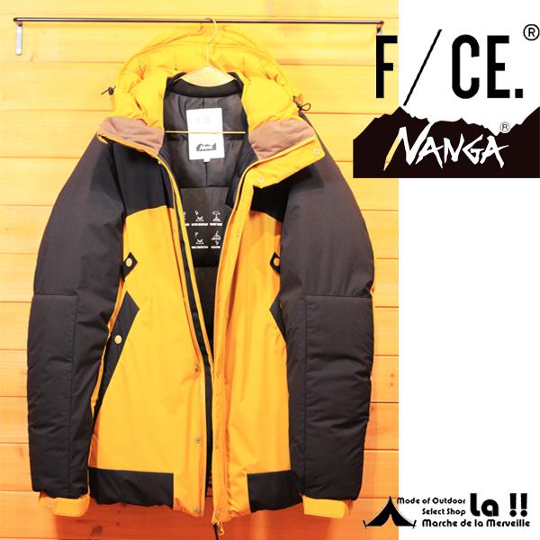 【 F/CE. and NANGA 】 エフシーイー & ナンガ FT CLIMB JK 760 FILL